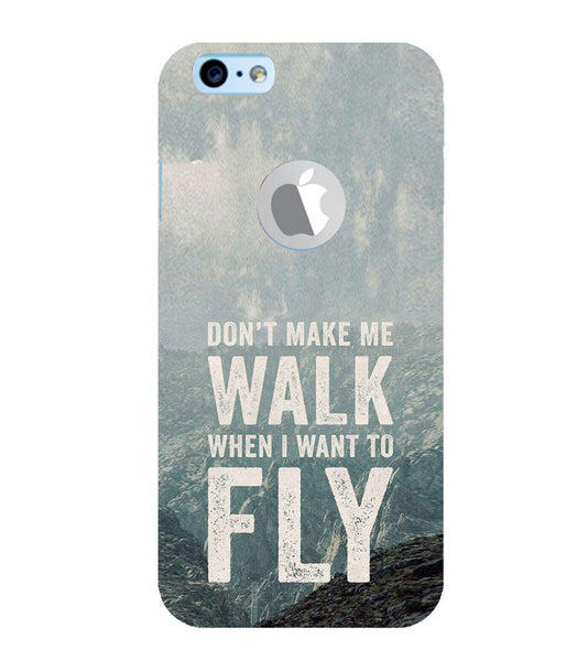 EPICCASE Make me fly Back Case Cover for Apple iPhone 6/6s