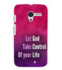 EPICCASE Believe in god Back Case Cover for Moto X