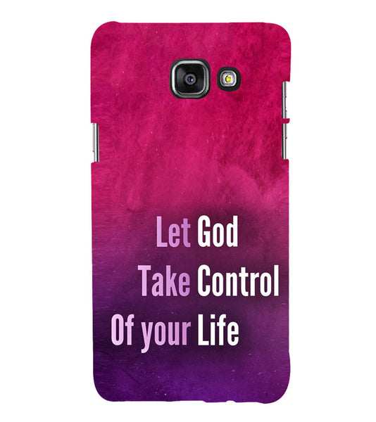 EPICCASE Believe in god Back Case Cover for Samsung A7 2016