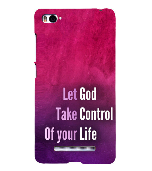EPICCASE Believe in god Back Case Cover for Xiaomi Redmi Mi4i