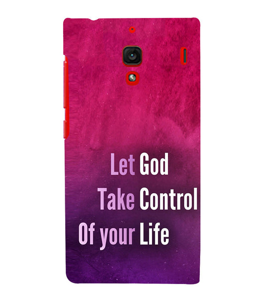 EPICCASE Believe in god Back Case Cover for Xiaomi Redmi 1s