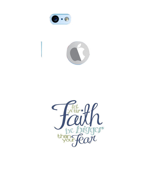 EPICCASE Faith over fear Back Case Cover for Apple iPhone 6plus/6splus