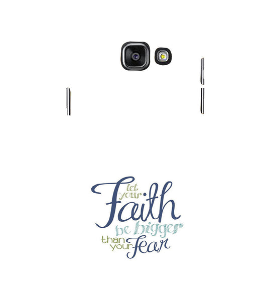 EPICCASE Faith over fear Back Case Cover for Samsung A5 2016