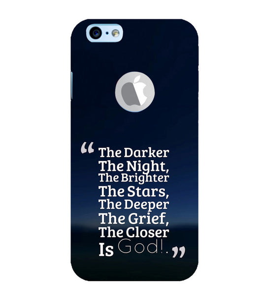 EPICCASE Closer the god Back Case Cover for Apple iPhone 6/6s