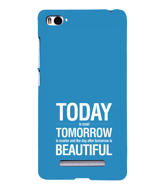 EPICCASE Future is success Back Case Cover for Xiaomi Redmi Mi4i