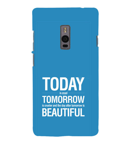 EPICCASE Future is success Back Case Cover for Oneplus Two