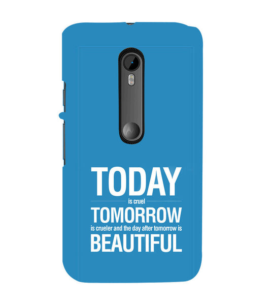 EPICCASE Future is success Back Case Cover for Moto X Style
