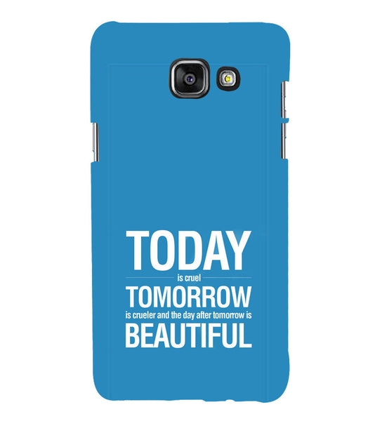 EPICCASE Future is success Back Case Cover for Samsung A5 2016