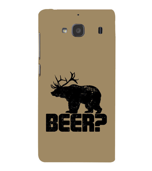EPICCASE Drunken fun Back Case Cover for Xiaomi Redmi 2s