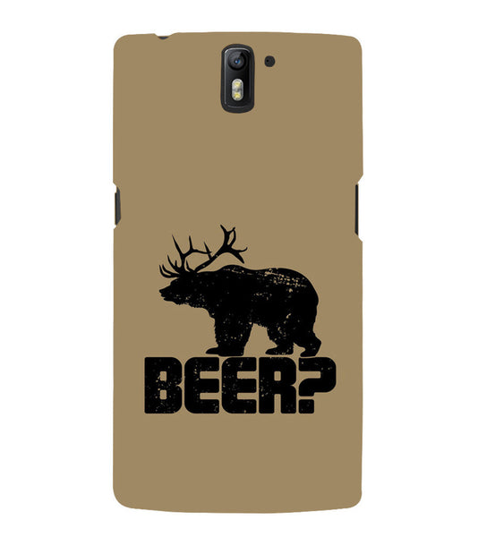 EPICCASE Drunken fun Back Case Cover for Oneplus One
