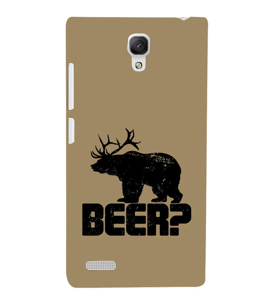 EPICCASE Drunken fun Back Case Cover for Xiaomi Redmi Note prime