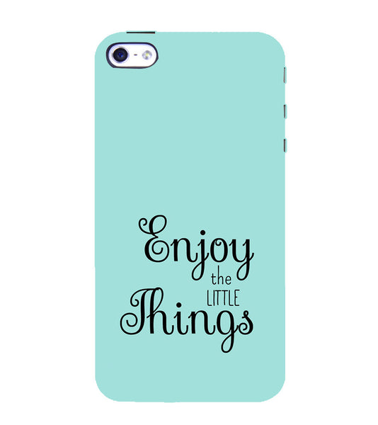 EPICCASE Enjoy the little things  Back Case Cover for Apple iPhone 4