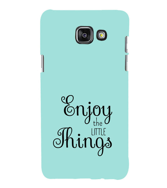 EPICCASE Enjoy the little things  Back Case Cover for Samsung A5 2016