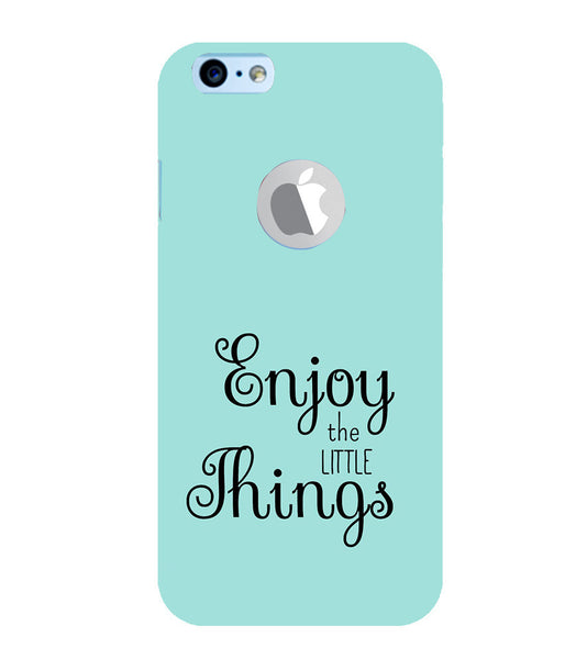 EPICCASE Enjoy the little things  Back Case Cover for Apple iPhone 6plus/6splus