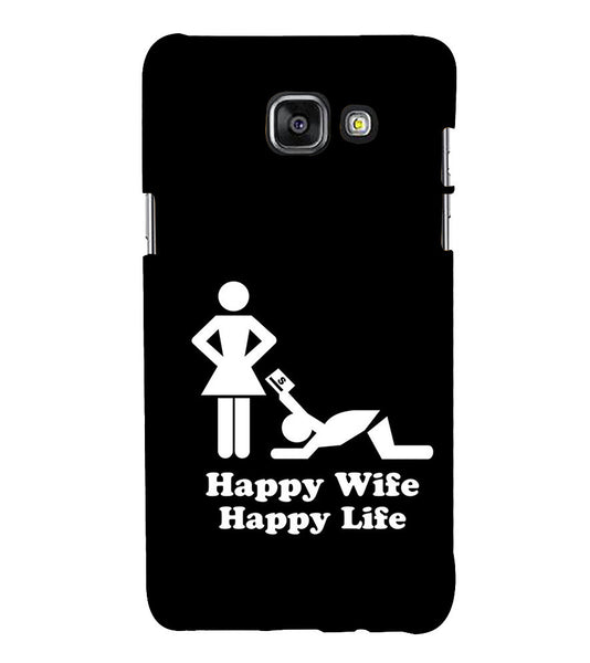 EPICCASE Happy wife  Back Case Cover for Samsung A7 2016