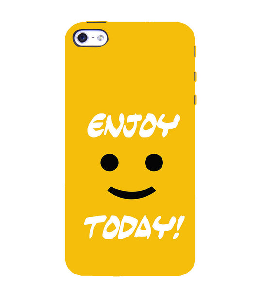 EPICCASE Enjoy today Back Case Cover for Apple iPhone 4