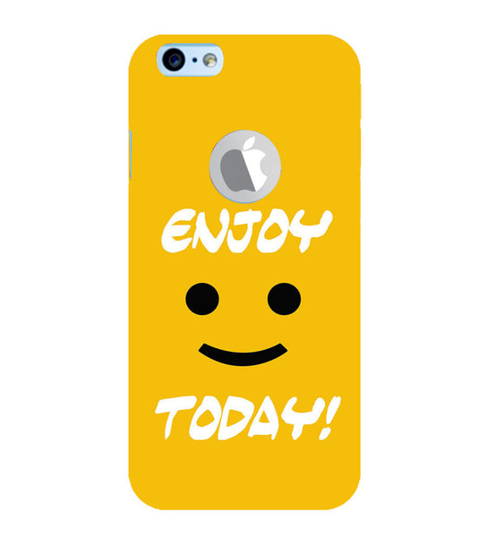 EPICCASE Enjoy today Back Case Cover for Apple iPhone 6/6s