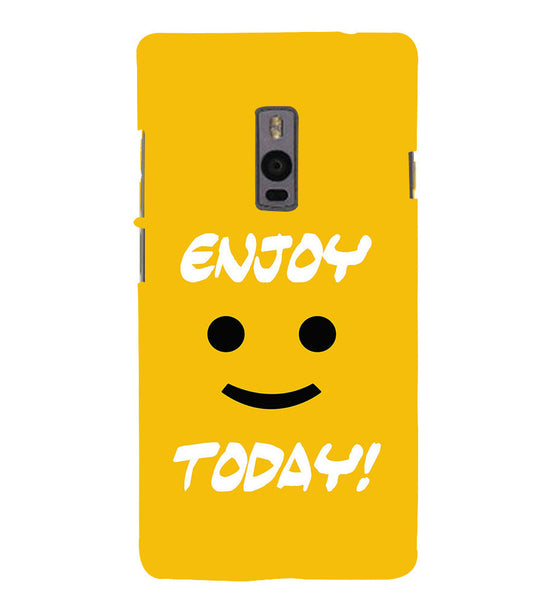 EPICCASE Enjoy today Back Case Cover for Oneplus Two