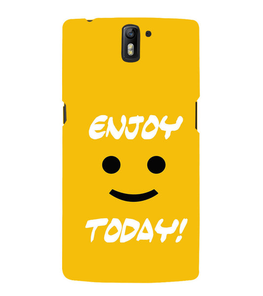 EPICCASE Enjoy today Back Case Cover for Oneplus One