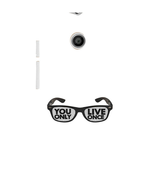EPICCASE YOLO GLASSES Back Case Cover for Moto E