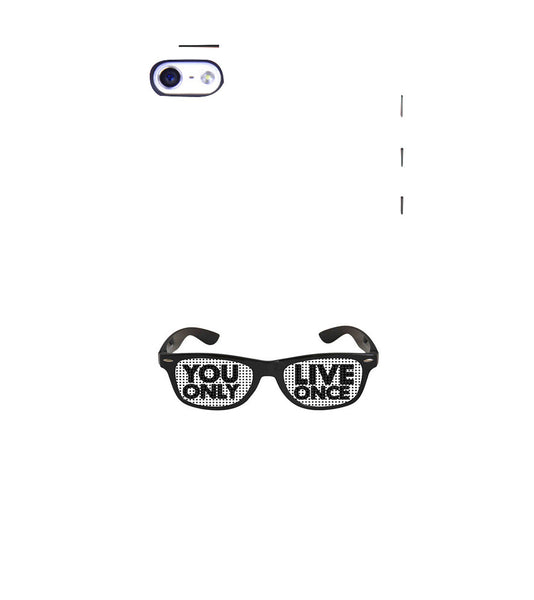 EPICCASE YOLO GLASSES Back Case Cover for Apple iPhone 4