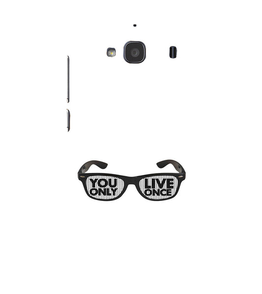 EPICCASE YOLO GLASSES Back Case Cover for Xiaomi Redmi 2s