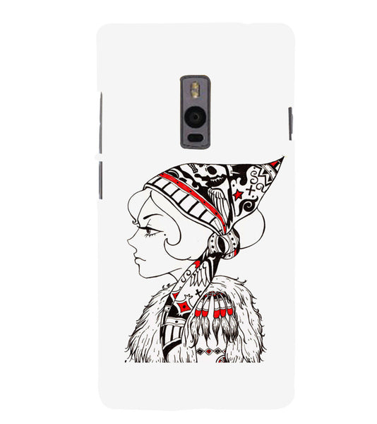 EPICCASE Cute funky girl Back Case Cover for Oneplus Two