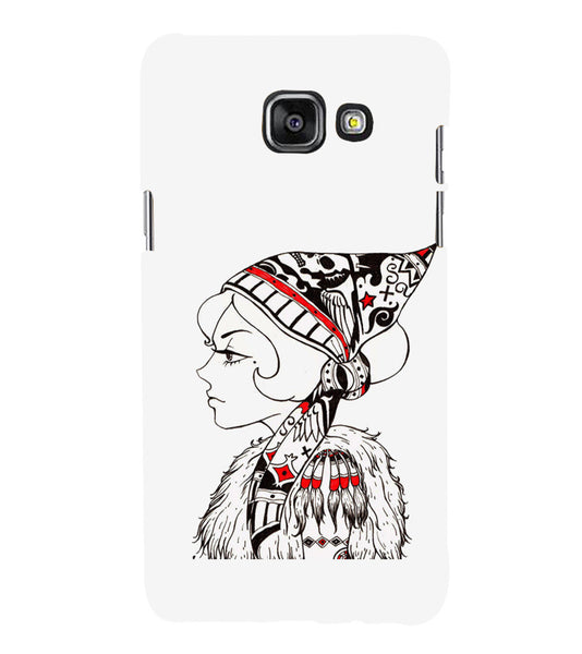 EPICCASE Cute funky girl Back Case Cover for Samsung A7 2016