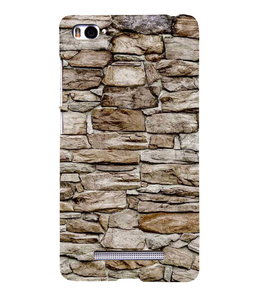 EPICCASE stone wall Back Case Cover for Xiaomi Redmi Mi4i