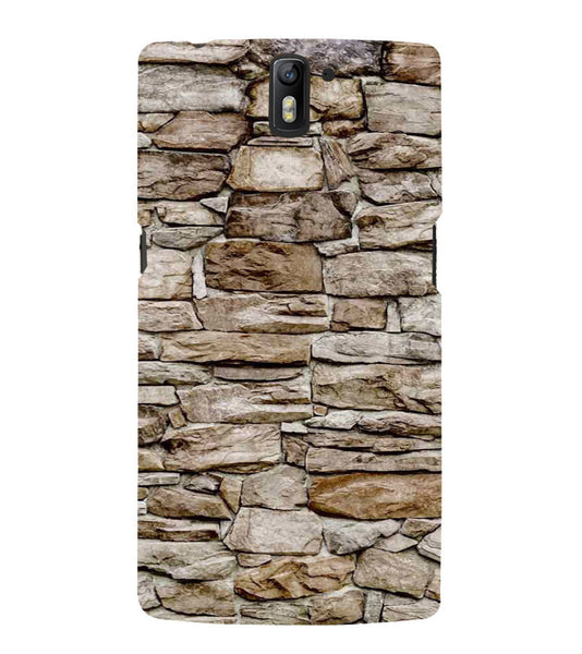 EPICCASE stone wall Back Case Cover for Oneplus One
