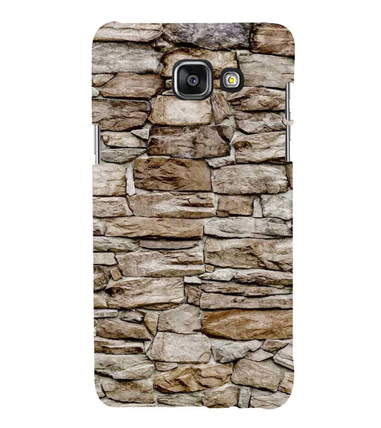 EPICCASE stone wall Back Case Cover for Samsung A5 2016