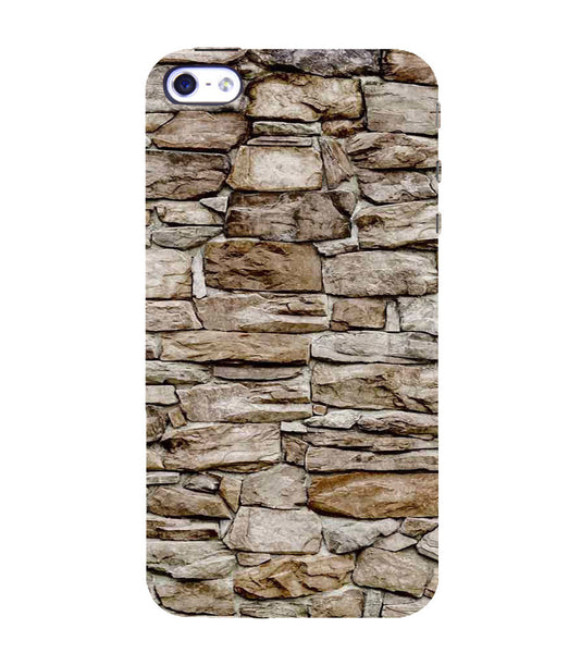 EPICCASE stone wall Back Case Cover for Apple iPhone 4