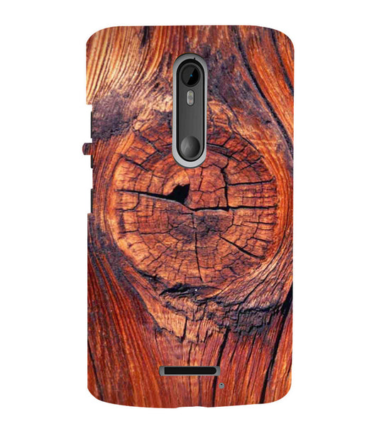 EPICCASE 3d wood finish Back Case Cover for Moto X3