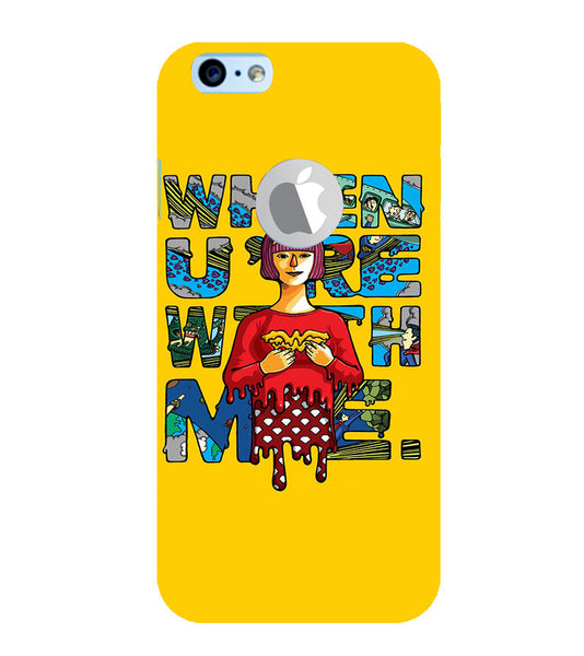 EPICCASE Wonderwoman love Back Case Cover for Apple iPhone 6plus/6splus