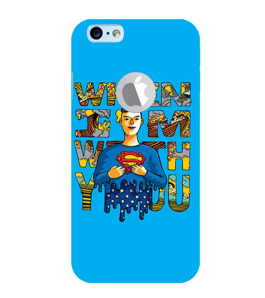 EPICCASE Superman love Back Case Cover for Apple iPhone 6plus/6splus