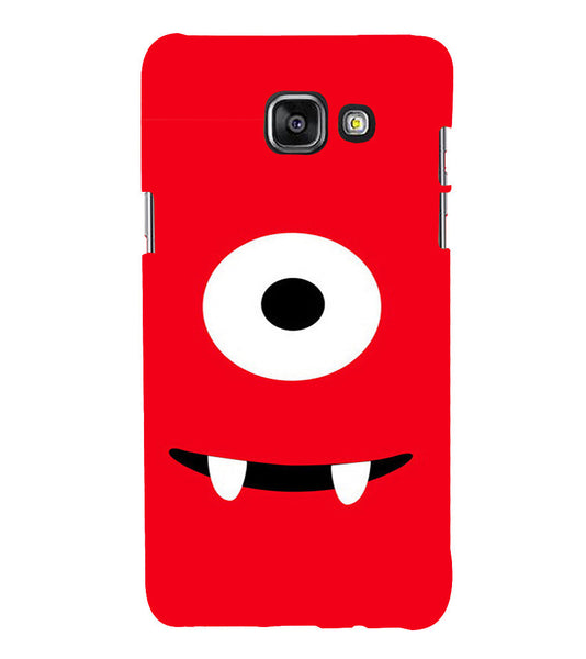 EPICCASE Cute monster Back Case Cover for Samsung A7 2016