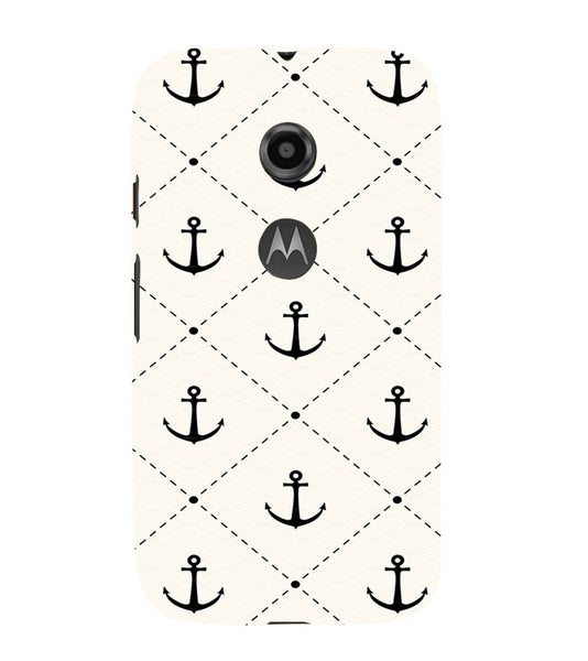 EPICCASE Anchor case Back Case Cover for Moto E2