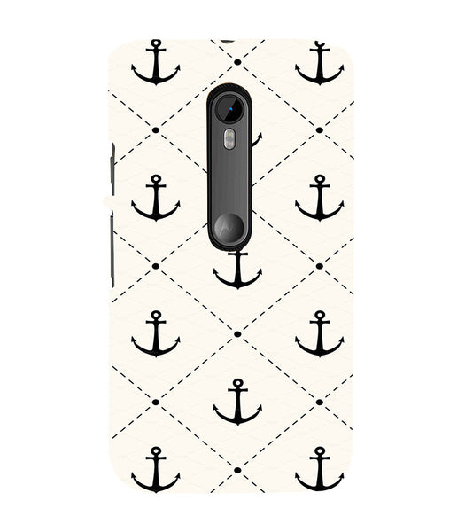EPICCASE Anchor case Back Case Cover for Moto X Style