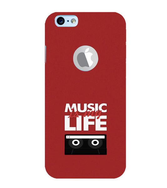 EPICCASE Music is Life Back Case Cover for Apple iPhone 6/6s