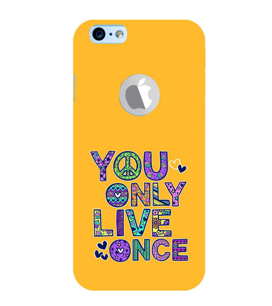 EPICCASE Life is Short Back Case Cover for Apple iPhone 6/6s