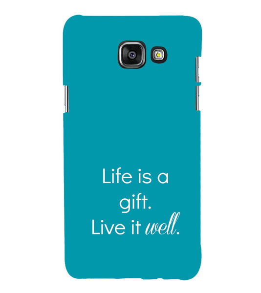 EPICCASE Live is a gift Back Case Cover for Samsung A7 2016
