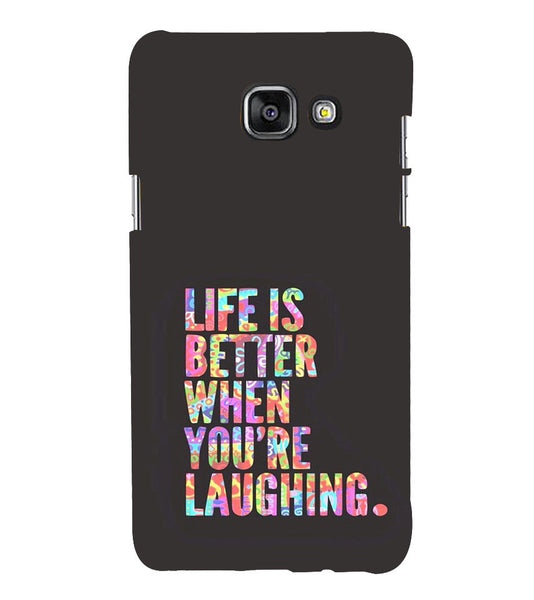 EPICCASE Better Life Back Case Cover for Samsung A5 2016