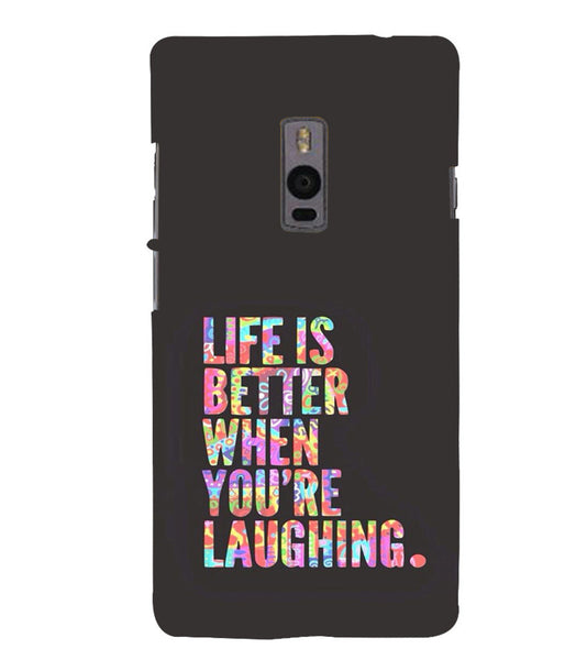 EPICCASE Better Life Back Case Cover for Oneplus Two