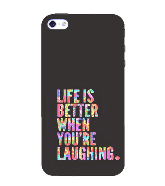 EPICCASE Better Life Back Case Cover for Apple iPhone 4