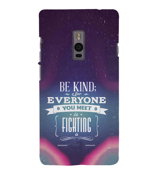 EPICCASE Wisewords Back Case Cover for Oneplus Two