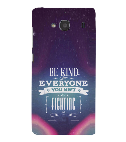 EPICCASE Wisewords Back Case Cover for Xiaomi Redmi 2s