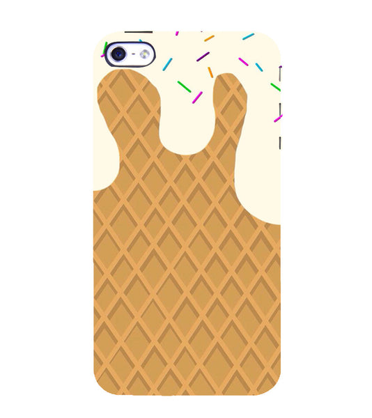 EPICCASE Waffer Case Back Case Cover for Apple iPhone 5/5s
