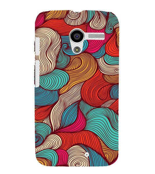 EPICCASE Threaded Pattern case Back Case Cover for Moto X