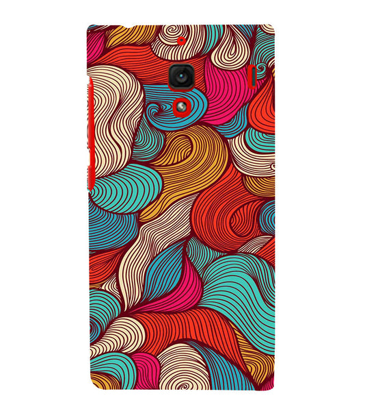 EPICCASE Threaded Pattern case Back Case Cover for Xiaomi Redmi 1s