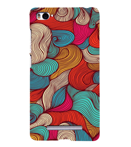 EPICCASE Threaded Pattern case Back Case Cover for Xiaomi Redmi Mi4i